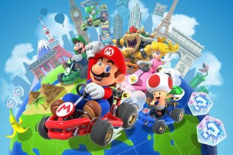 Mario Kart Tour is starting with a New York themed set of levels but will eventually move to other locales.