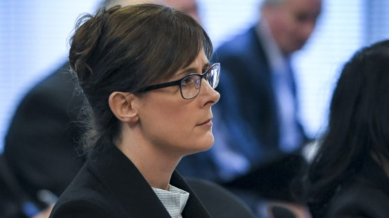 Counsel assisting the royal commission Rowena Orr