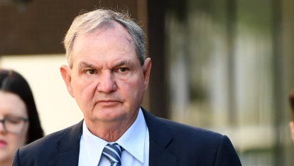 'That's not blackmail, is it?': Paul Pisasale takes to witness box
