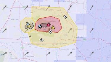 The Ardonachie emergency warning area