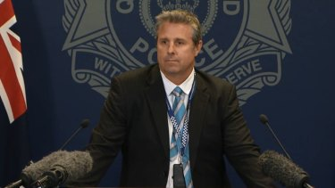 Detective Acting Inspector Christopher Toohey is appealing for information about the death of 33-year-old man Robert Charles Frescon.
