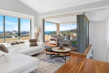 Inside the Coogee penthouse.