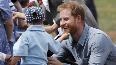 From cuddling kids to climbing the Harbour Bridge, what shone was Prince Harry's character.