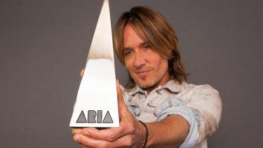 Keith Urban is hosting the ARIAs.