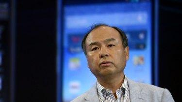 Masayoshi Son, chairman and chief executive of SoftBank Corp.