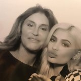 Caitlyn Jenner with daughter Kylie Jenner.