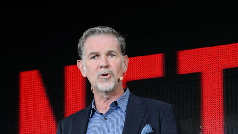 Reed Hastings, chief executive officer of Netflix.