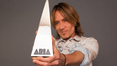 Keith Urban is hosting the ARIAs.