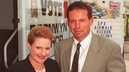 A quarter of a century later, Tony Abbott clings on in a Liberal heartland