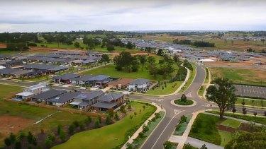 The Gledswood Hills housing development