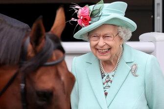Queen Elizabeth II attends Royal Ascot 2021 at Ascot Racecourse, England, last week.