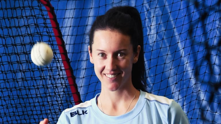 Comeback: Lisa Griffith will make her return to the NSW Breakers side on Friday after eight years out.