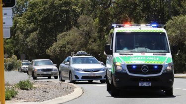 St John Ambulance were called to the accident site.