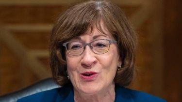 Senator Susan Collins, a Republican.