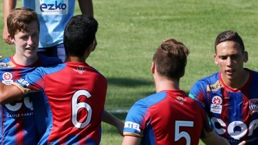 Newcastle Jets' youth team could be playing in a reserve league next season.