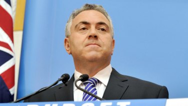 Then-Treasurer Joe Hockey tore up the Gillard government's hospital funding deal with the states in 2014.