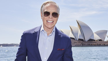 Tommy Hilfiger in Sydney last year.