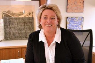 State coroner, judge Sara Hinchey, last year.