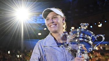 Reigning Australian Open champion Caroline Wozniacki.