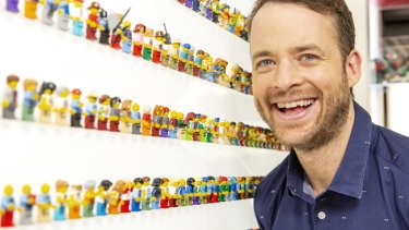 Host Hamish Blake is critical to the ratings success of Lego Masters.