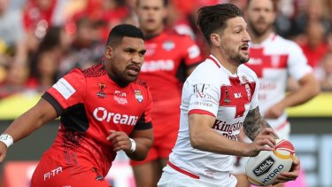 Homesick: Gareth Widdop asked for an immediate release.