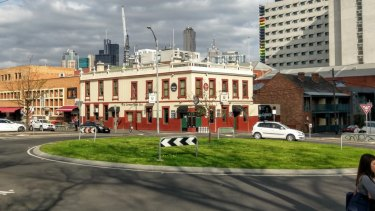 The pub in 2016 before it was illegally knocked down by Shaqiri and Kutlesovski.