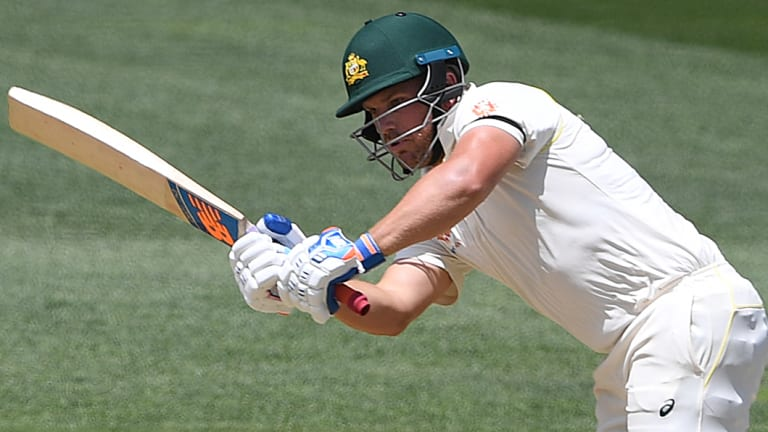 Let-off: Aaron Finch was given out off a no-ball that was revealed by DRS.