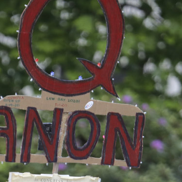Many QAnon followers believe the 2020 US election result was rigged against Donald Trump. ABC's Four Corners is working on a story that explores the link between QAnon and Prime Minister Scott Morrison.