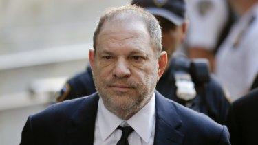 Harvey Weinstein denied criminal sexual assault on women at a court in New York in 2018.