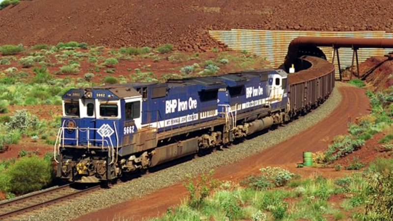 Runaway BHP train deliberately derailed after travelling