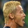 Keisuke Honda's Victory preparing for fanatical Japanese reception
