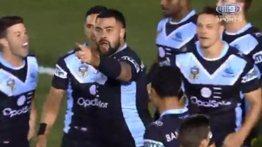 Andrew Fifita launches his extraordinary attack on his own coaches after scoring a critical try against North Queensland.