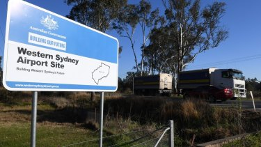 The M12 motorway will offer motorists a direct link to the new airport at Badgerys Creek.