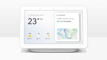 Google's own Home Hub is a smaller and simpler smart display.