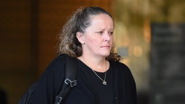 Guilty of attempted murder: Sharon Yarnton pictured in 2017.
