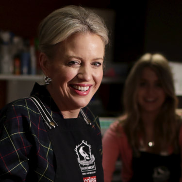 "Chloe Shorten at the Salvation Army's Melbourne headquarters last month. ""She really is the person that lights up the room,"" says an associate. ""She's got the positive vibe."""