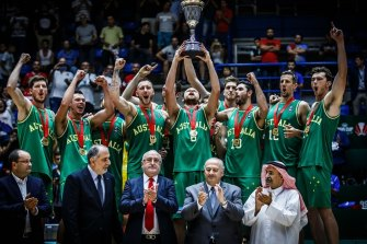 The Boomers won the FIBA Asian Cup.