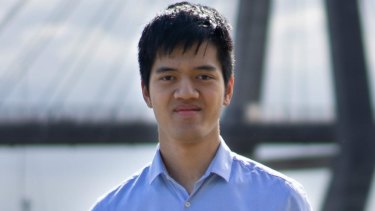 Raymond Li, who topped the state in Maths Extension 1 and Chemistry last year.