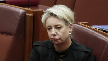 Former Nationals deputy leader Bridget McKenzie is on the back bench after resigning from the ministry over her handling of a sports grants program.