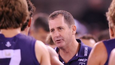 Ross Lyon during his days at the Dockers.