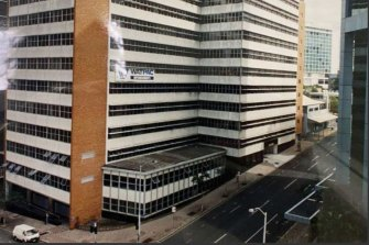 How the original Christie Centre appeared when it was built for the Australian Taxation Office.