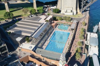 The redesign of North Sydney Olympic Pool has attracted criticism it will compromise heritage features.