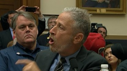Jon Stewart tears into Congress over September 11 victims fund