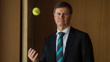 Former Tennis Australia president Steve Healy.