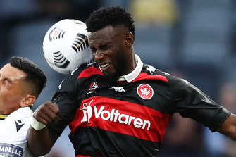 Bernie Ibini will face the Newcastle Jets for the first time since leaving the club on Friday night.