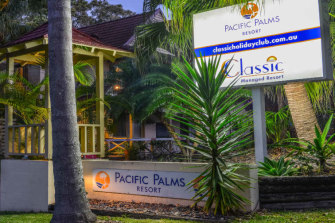 The Pacific Palms resort, managed by timeshare operator Classic Holidays.