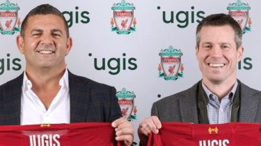 Bill Papas on signing a sponsorship deal between his waste company iugis and Liverpool FC.