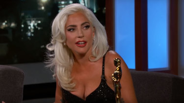 Lady Gaga addresses those Bradley Cooper rumours.