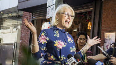 Lord mayor Sally Capp announces the City of Melbourne's plans for New Year's Eve.