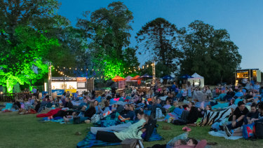 The Barefoot Cinema on the Mornington Peninsula is on this weekend.